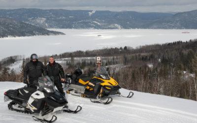Vue sur le Fjord-Du-Saguenay, Québec Canada