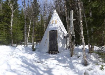 Le refuge du trappeur. Québec
