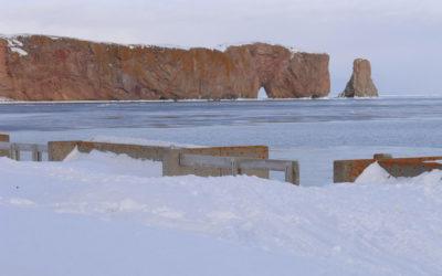 Le rocher Percé, Québec, Canada