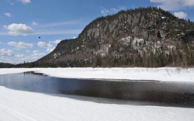 Avril, le dégel amorcé. Québec