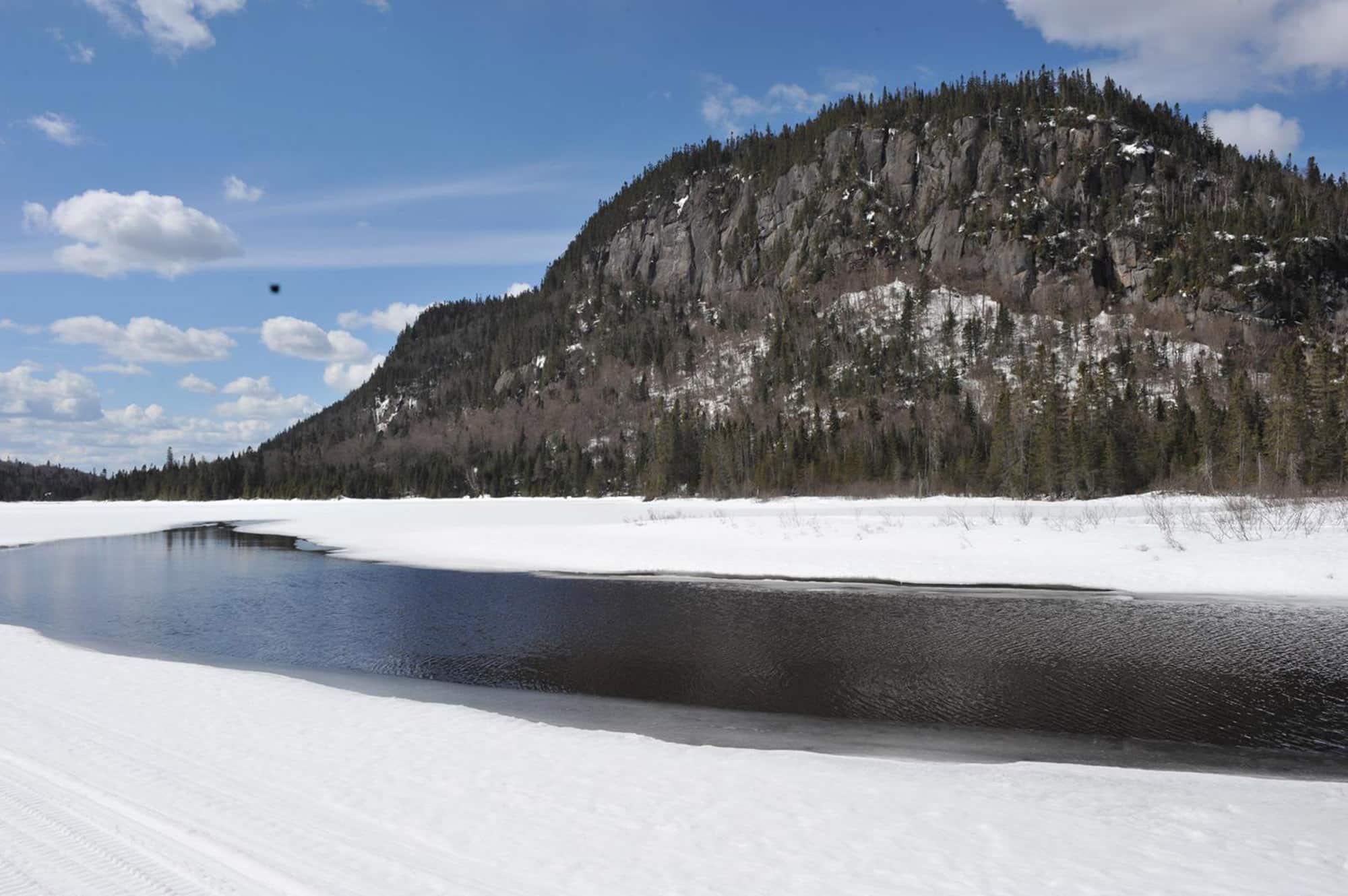 Avril le dégel amorcé Québec