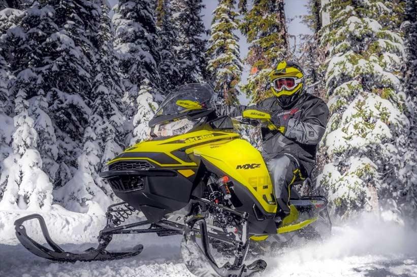 sentier motoneige au Quebec