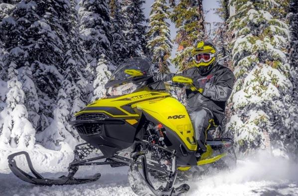 Voyage motoneige Québec