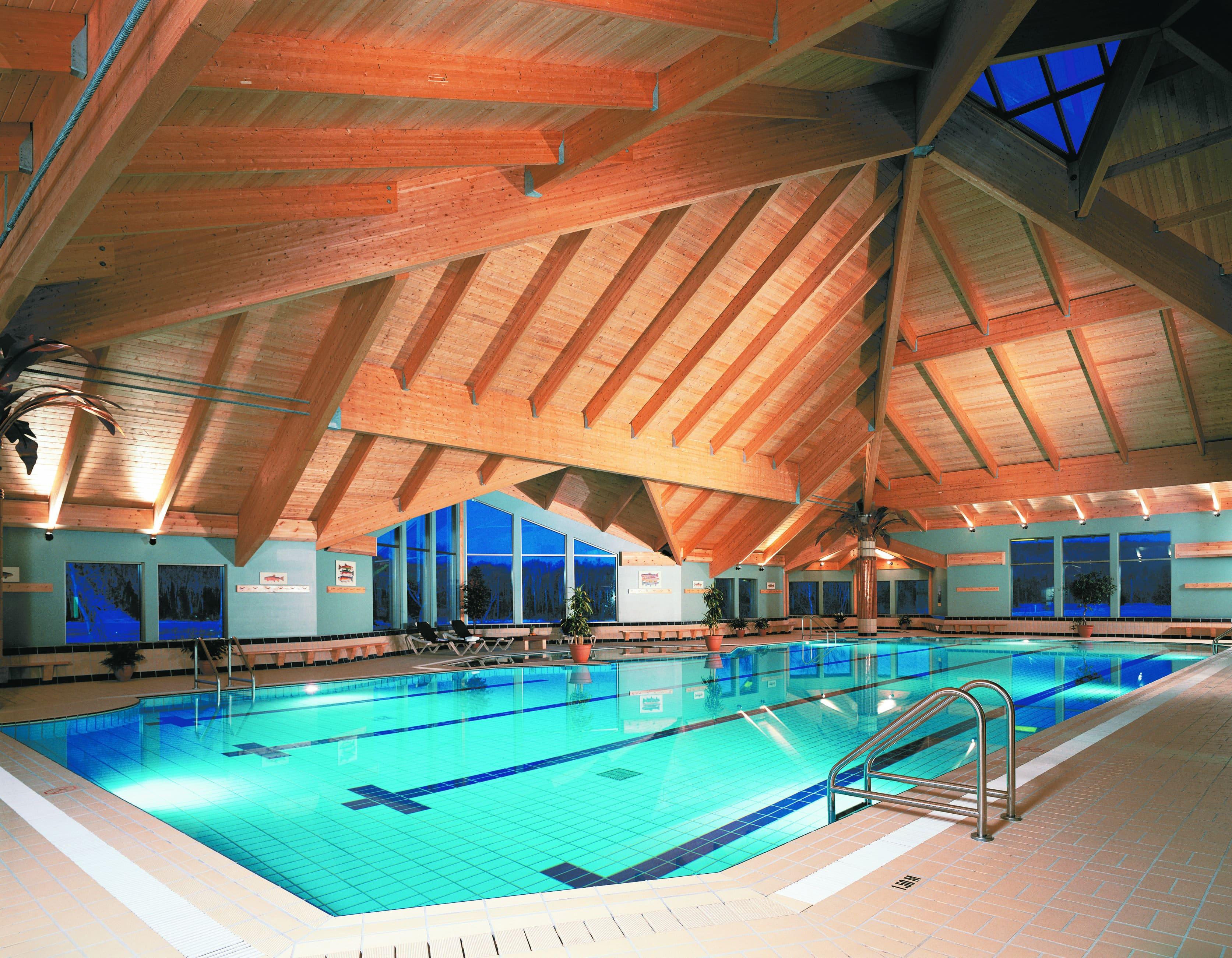 piscine Auberge lac taureau