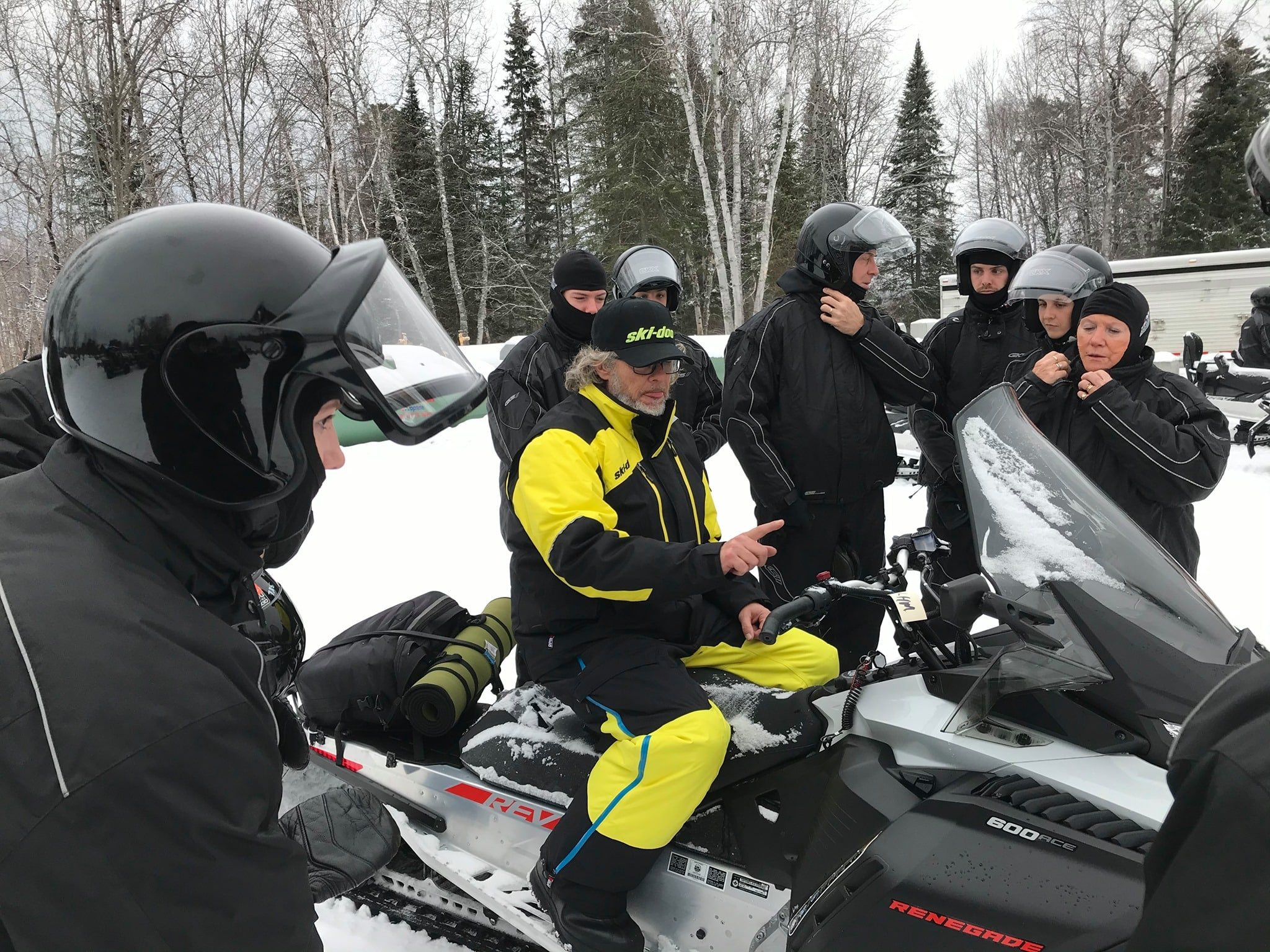 guide motoneige André Morand