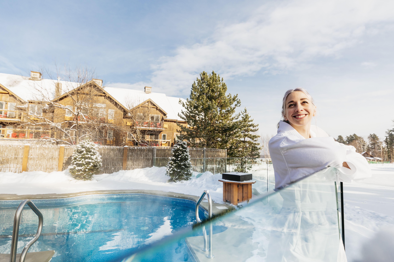 spa hiver Auberge lac taureau
