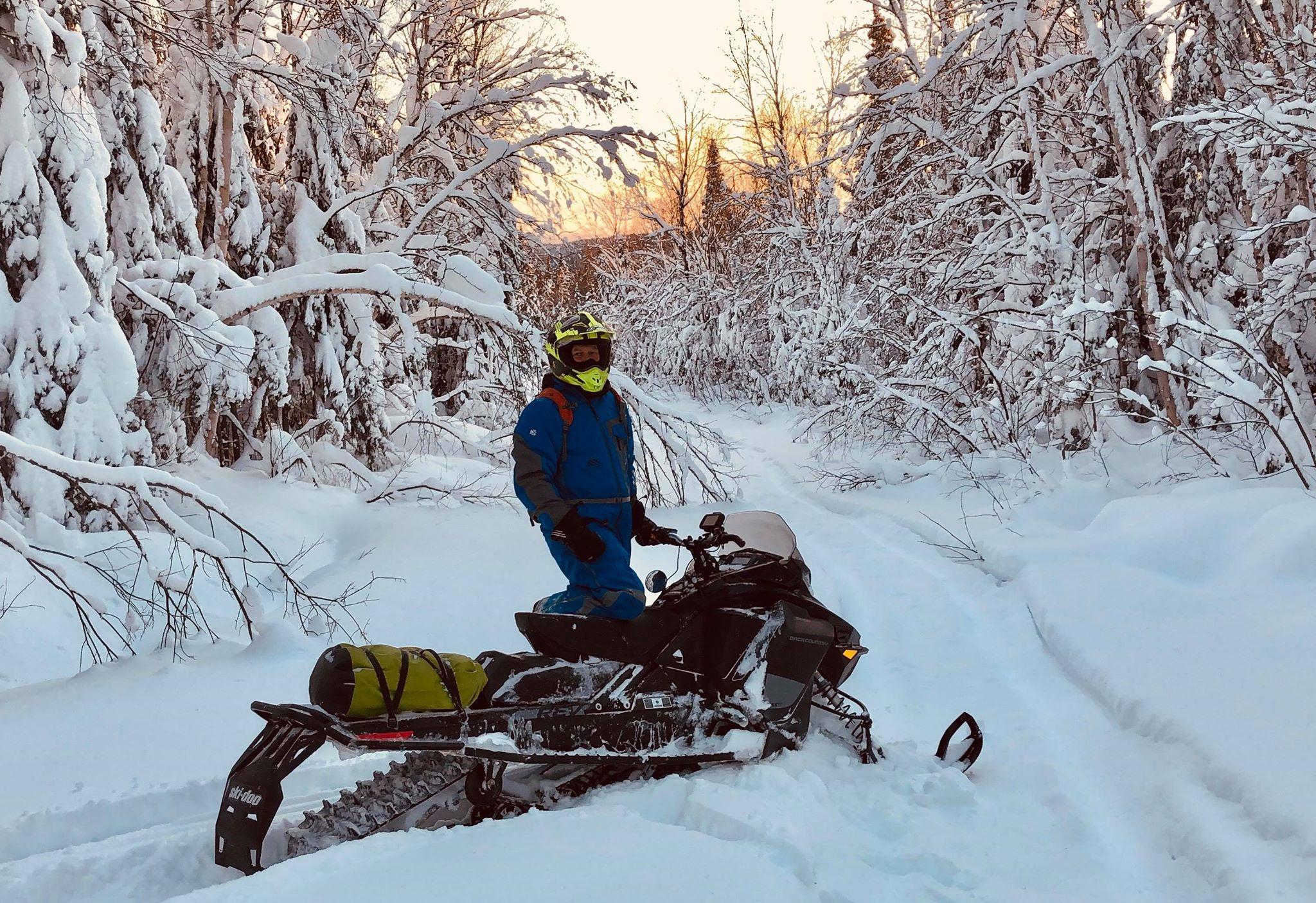 patrick gamache moto neige